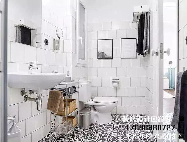 60�O两居室旧房改造 复古优雅又简约时髦