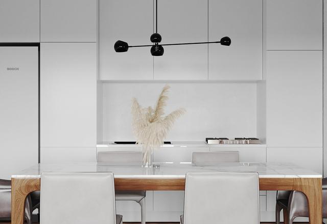 三组极简主义装修设计 自然中性的房间色调轻松完美!