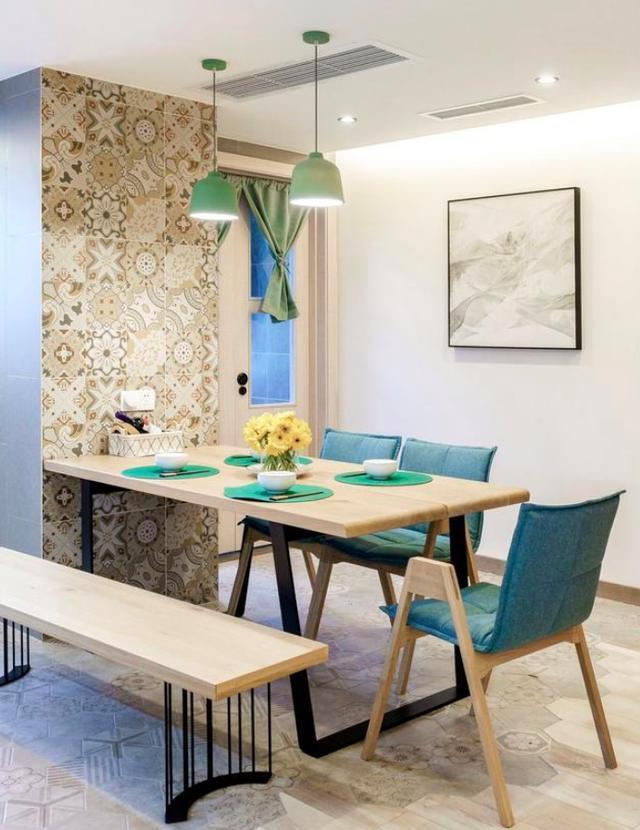130㎡三居室小清新装修 极致舒适引人向往!