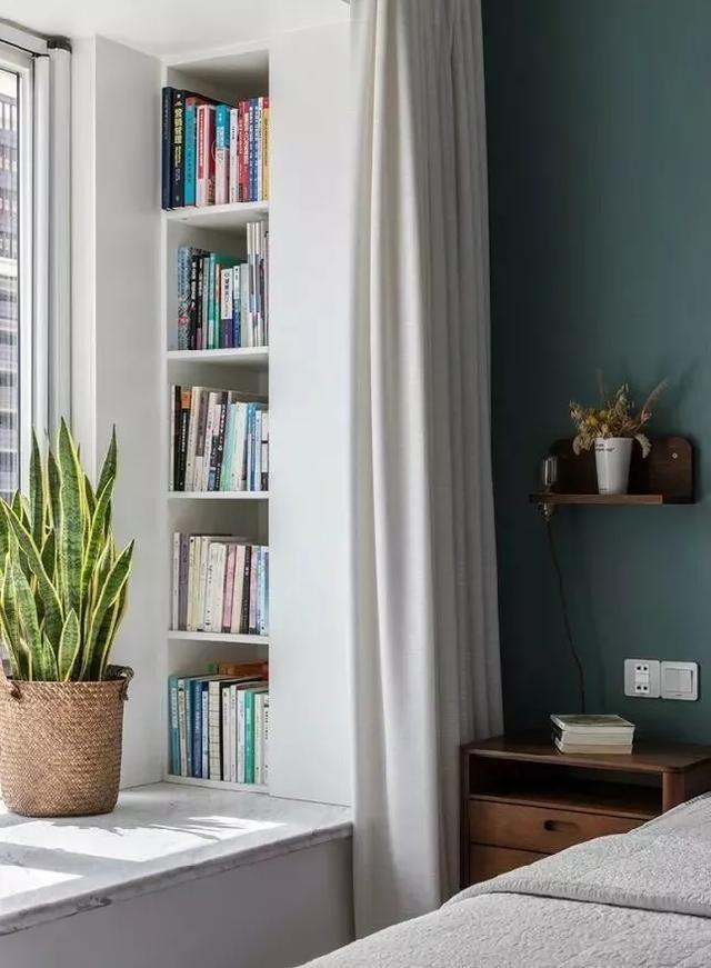 90㎡清新北欧风装修效果图 开挂式设计衣帽间书房都有呢