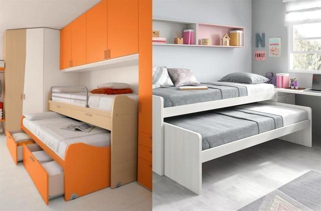 儿童房不买床怎么装修 这样去设计最多可睡3个娃!