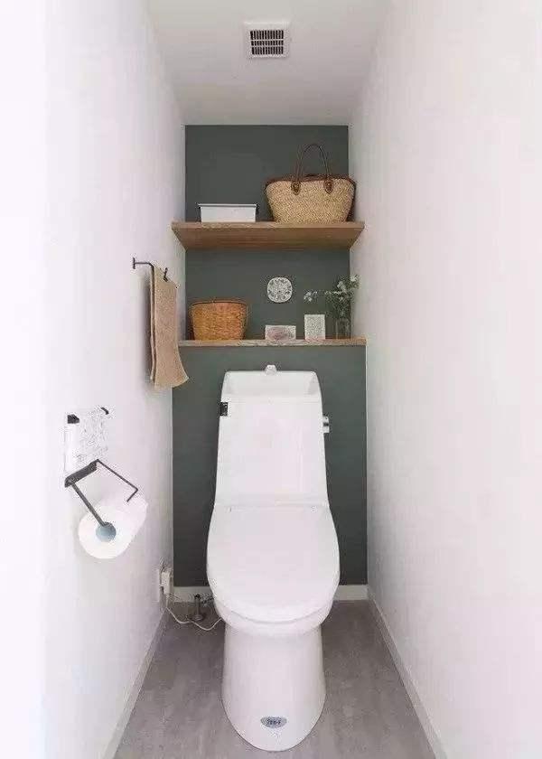 卫生间太小怎么办 学学这4个神操作空间立马增大一倍