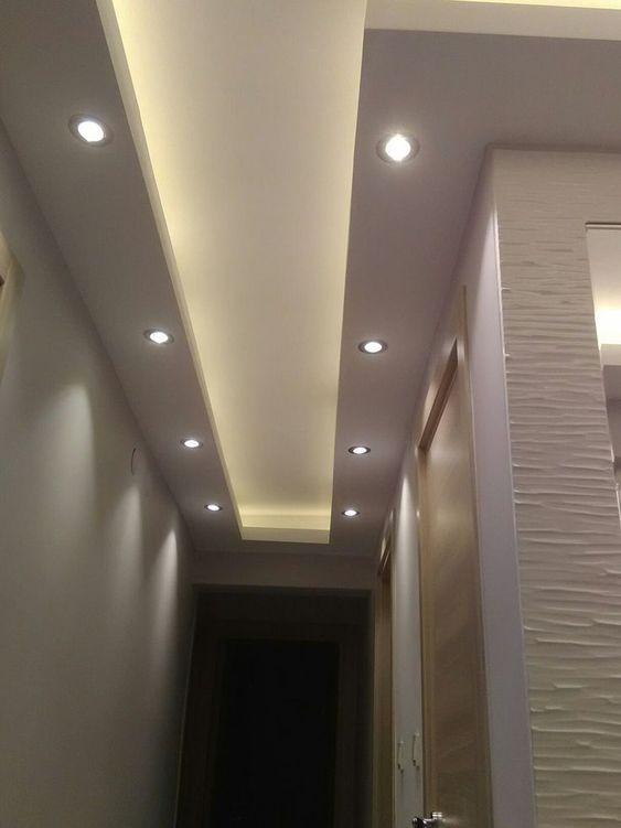 不做走廊吊顶的装修 尝试用这样去设计美观还不影响层高