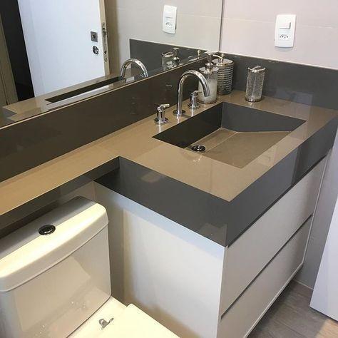洗漱台的实用设计 延伸做10cm宽平台好处真的可以很多