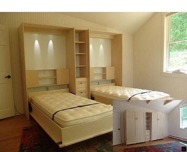 不做上下床的儿童房 这样设计占空间少还能增加收纳