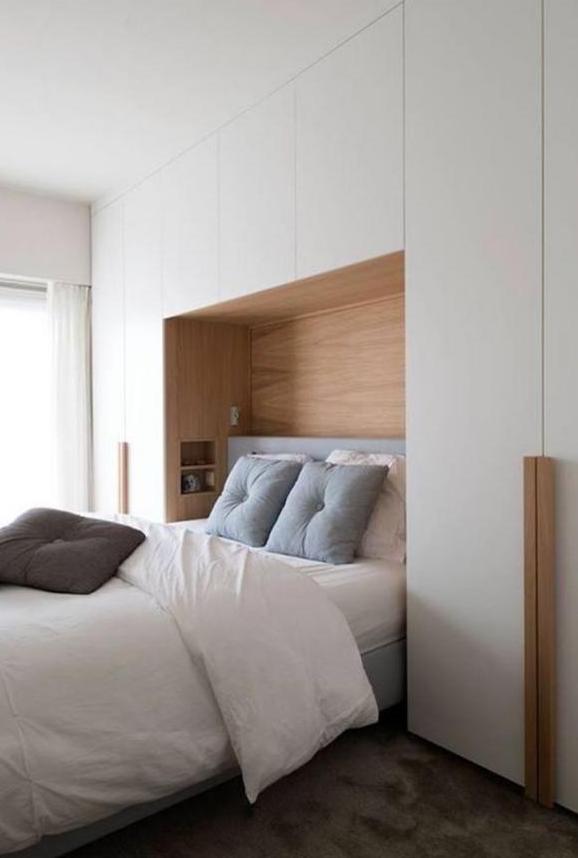 卧室床头两边的布置 这样装收纳翻倍好处太多了